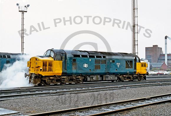 Rail Photoprints Class 37 0 37112 Haymarket 231083 Ge